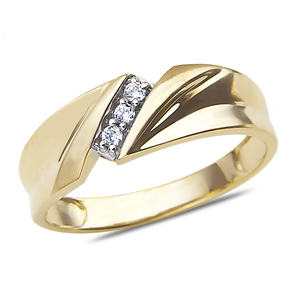 Nissoni Wacthes New Arrivals Men S Diamond Accent Wedding Band In 10k Yellow Gold At Https Ni Diamond Wedding Jewelry Jewelry Deals Bridal Diamond Jewellery