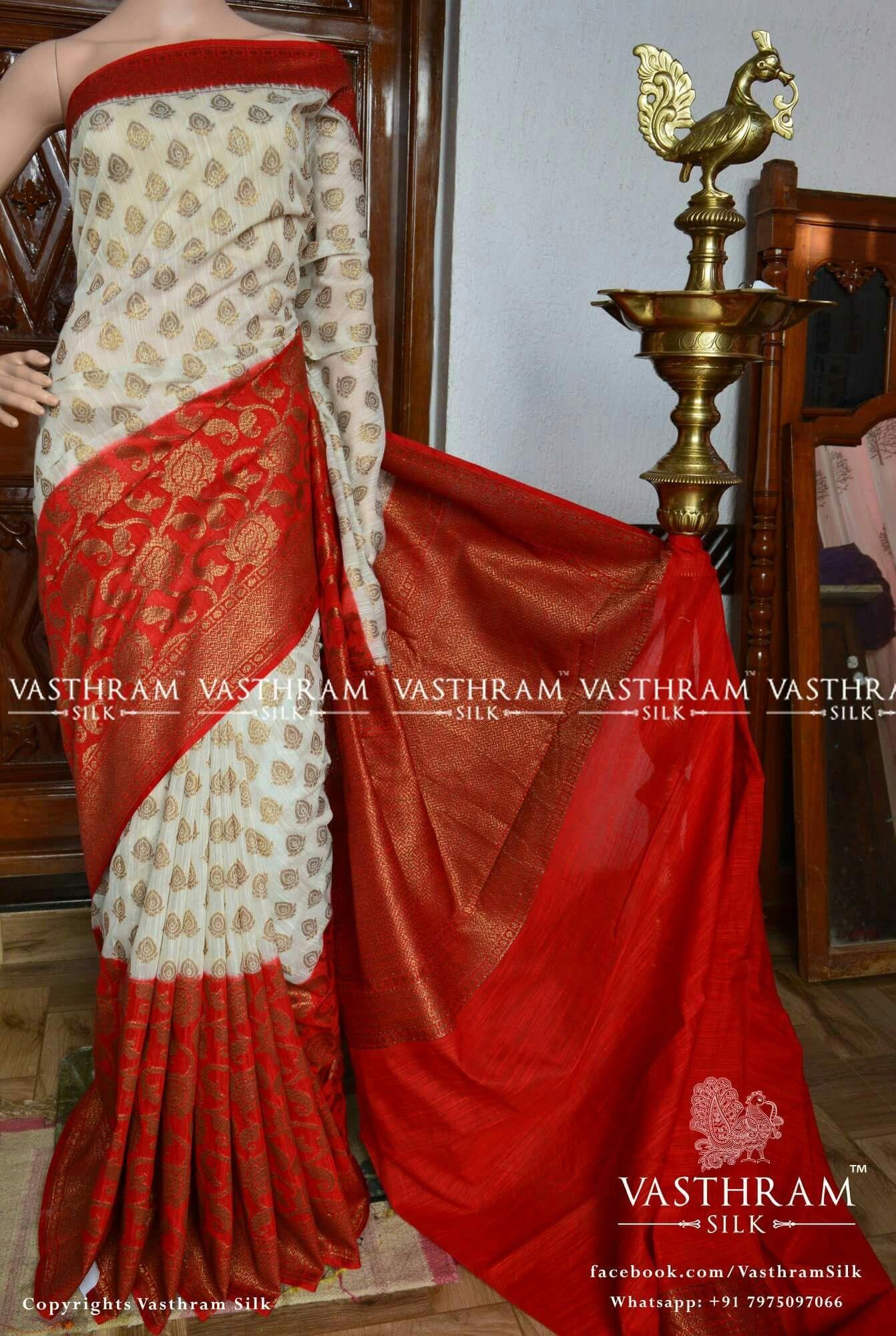 Banarasi dupion silk Cost 4100 inr Whatsapp 91