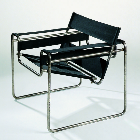 Marcel Breuer, designed for Kandinsky's quoter at Dessel Bauhaus, Wassily  Design: 1925 Production