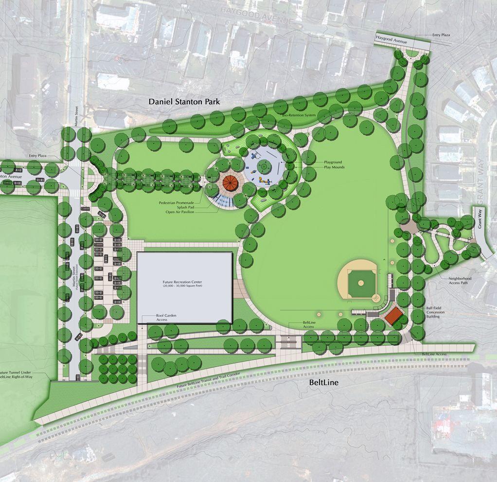 Stanton Park Master Plan Landscape Plans Master Plan Landscape