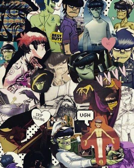 Murdoc collage | gorillaz and murdoc niccals | ♡~ Gorillaz ...