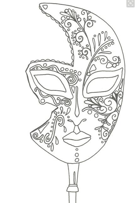 Masque Mandala Zum Ausdrucken Masken Zum Ausmalen Tiermasken
