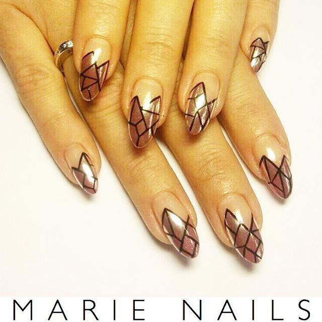 New nail art from MARIE NAILS NY location! Give us a call to make an ...