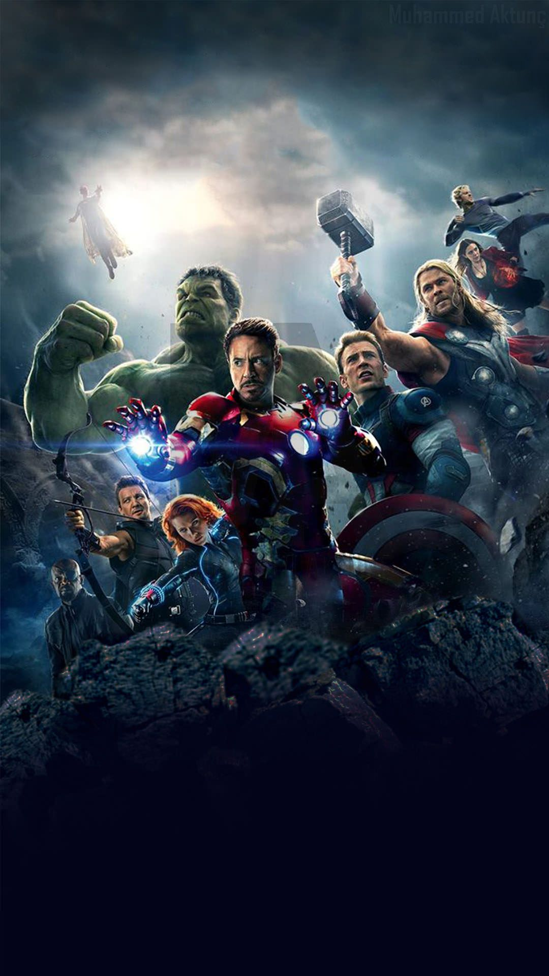 25 Best Avengers Iphone Wallpapers 2018 Marvel Phone Wallpaper