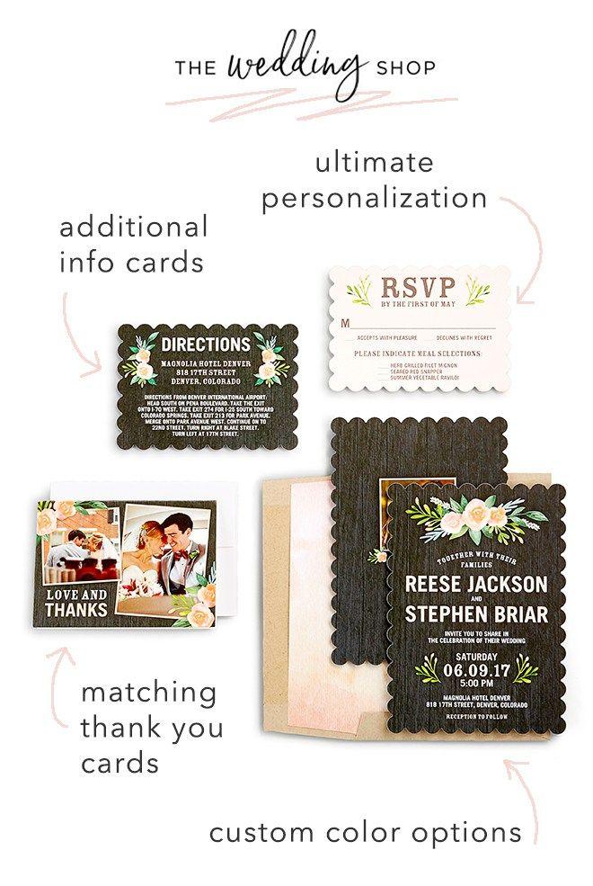 Introducing The Wedding Shop by Shutterfly! Wedding shop