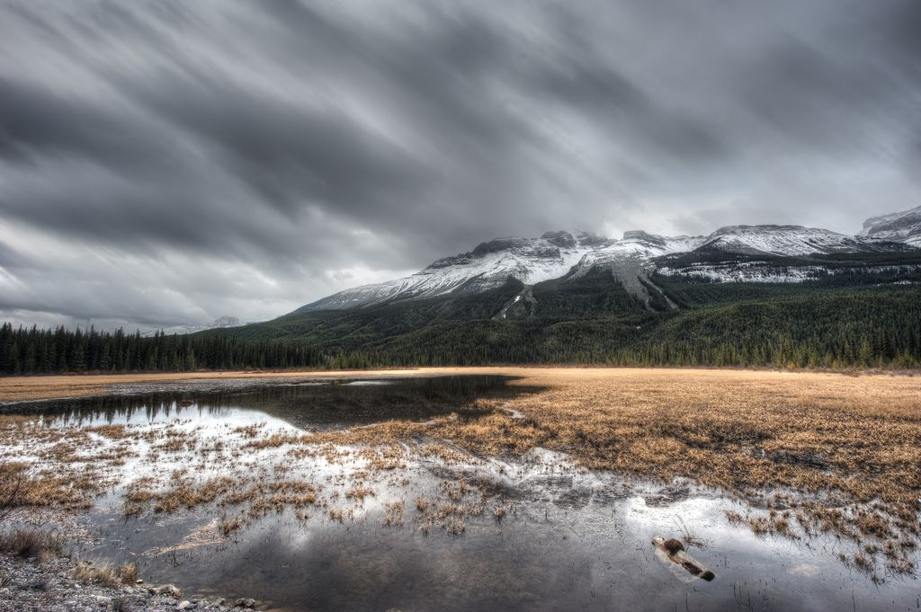 A lake in Banff National Park.