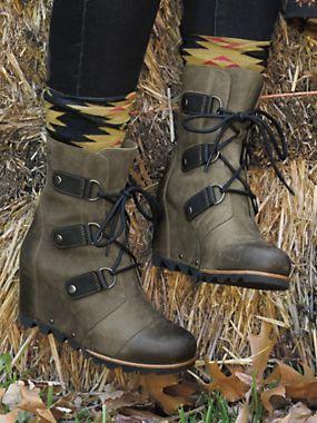 7d95670d1d0 Women s Sorel Joan of Arctic Wedge Boots
