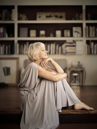 Helen Mirren She is just stunningly beautiful. I should look that good now let alone at her age