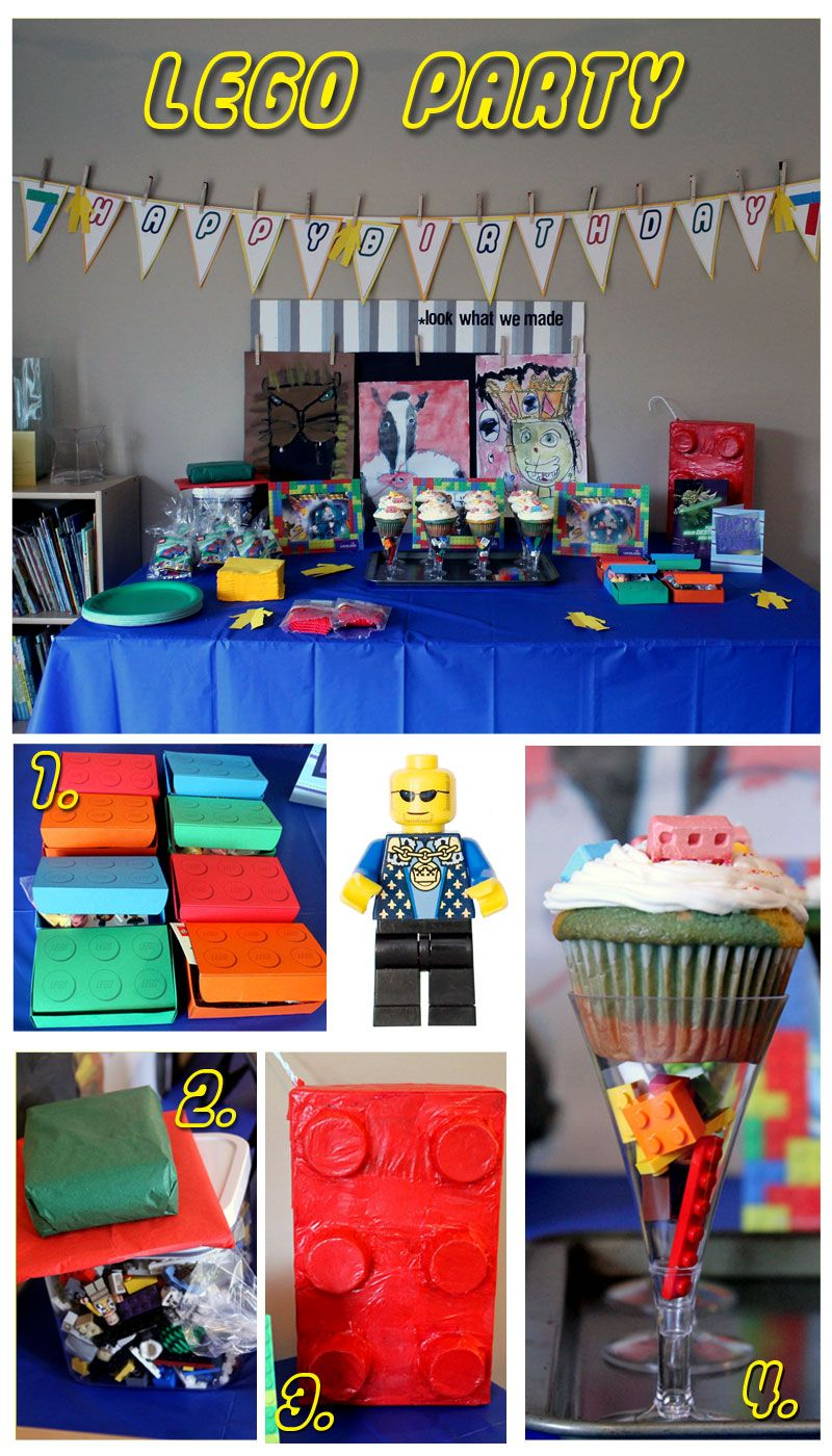 Everything That I Need: Gabe's Lego Party