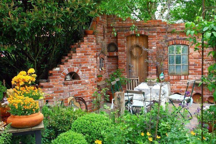 beautiful steinmauer im garten images - house design ideas