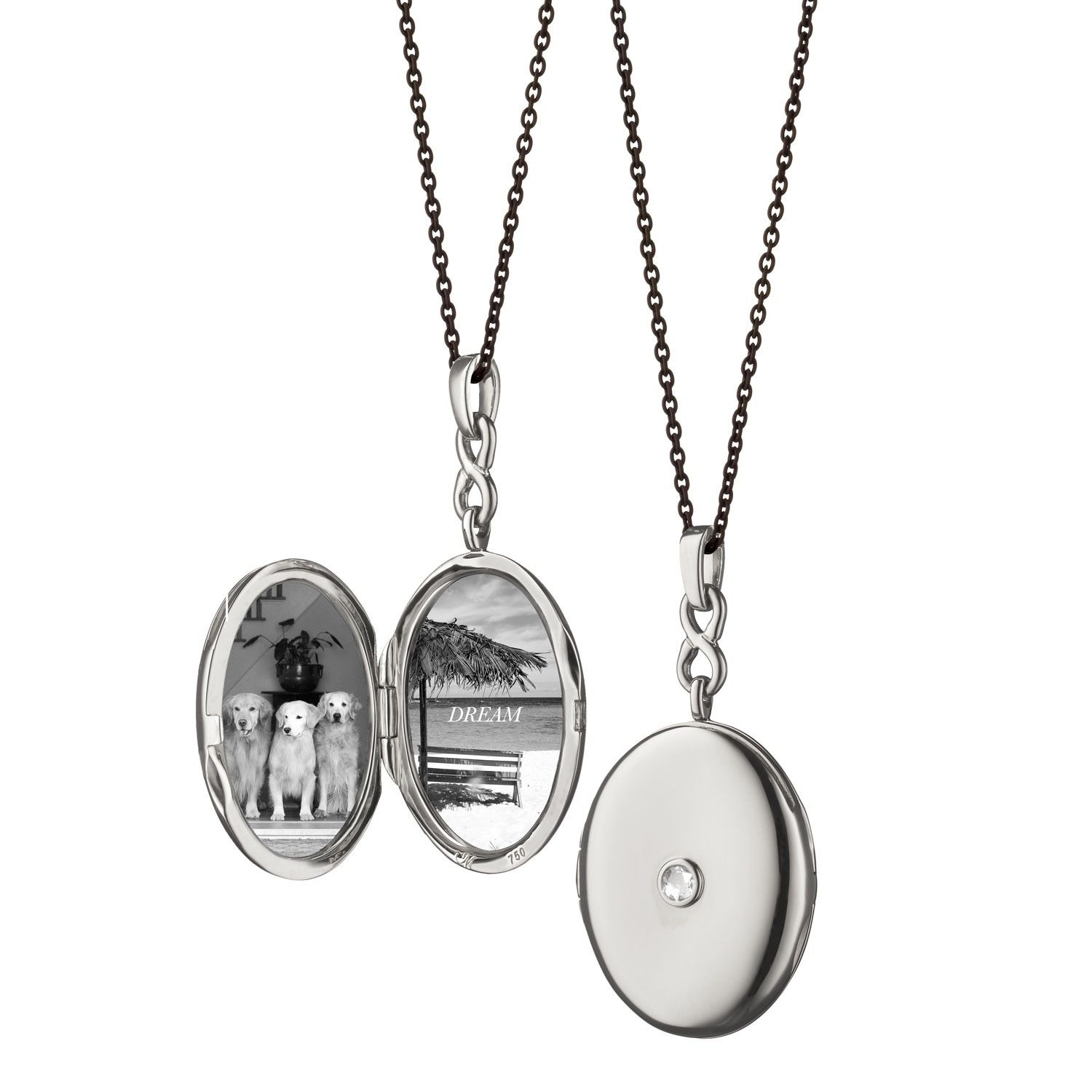 scent white scattered lockets sapphires silver gold rollinson locket pin sapphire