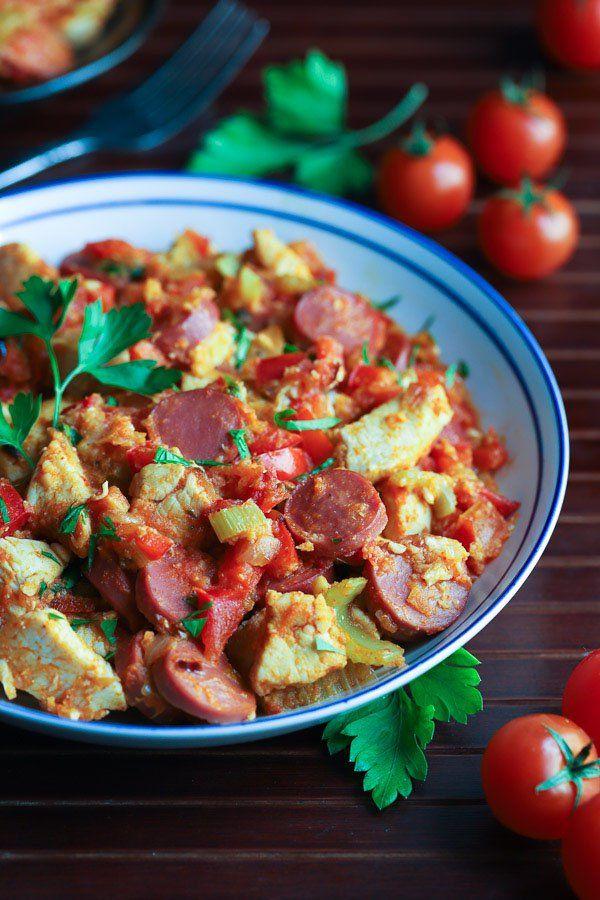 Low Carb Chicken and Sausage Jambalaya2 | 21 Day Meals ...