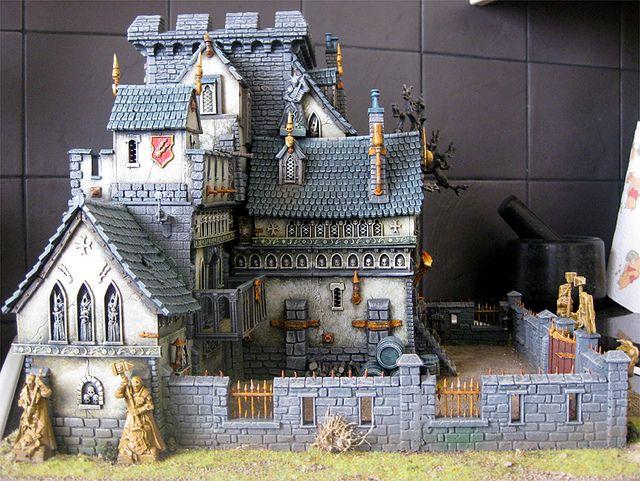 how to make warhammer terrain fantasy