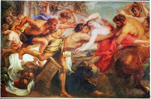 Resultado de imagen para El rapto de Hipodamía