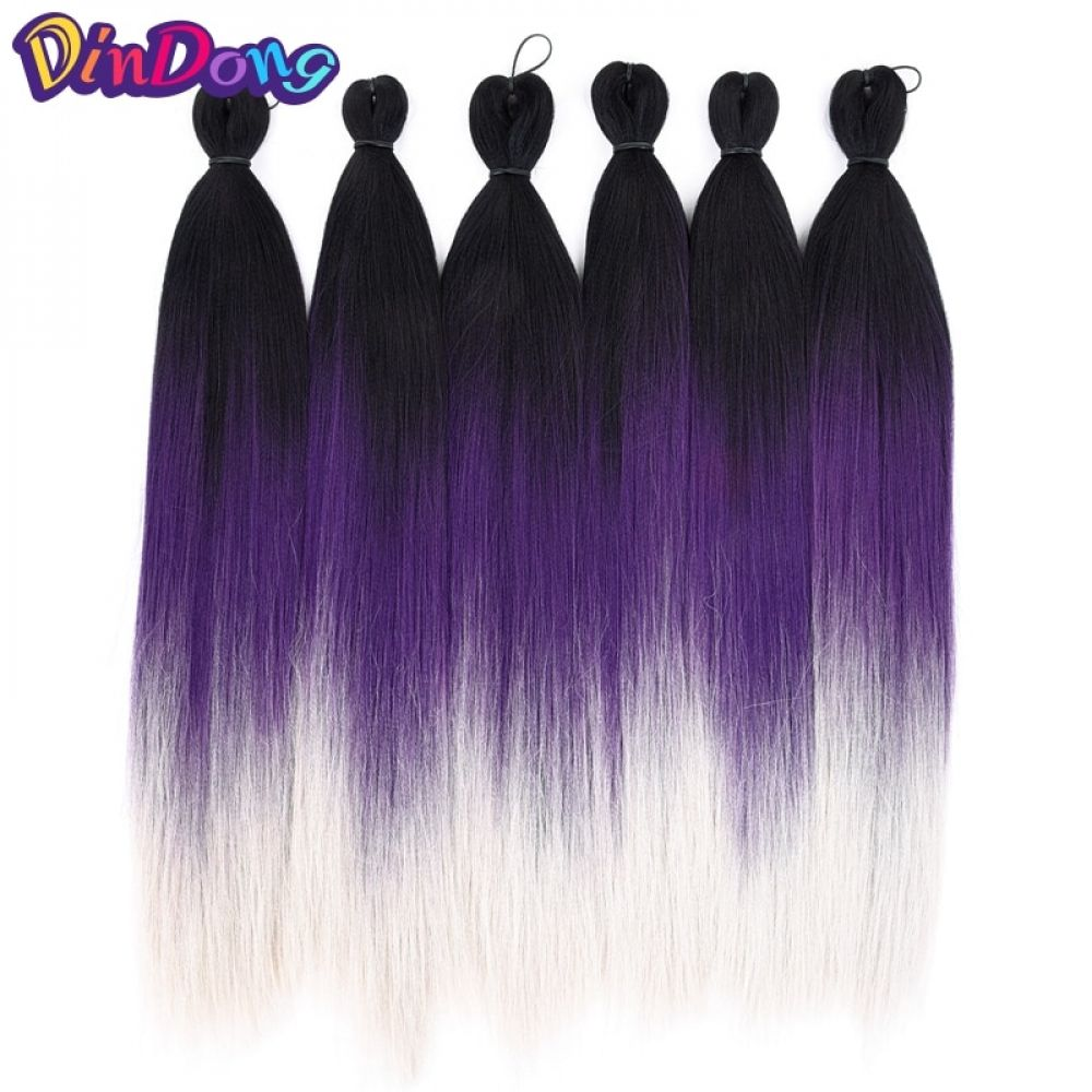 DinDong Easy Jumbo Braids Hair PreStretched Ombre