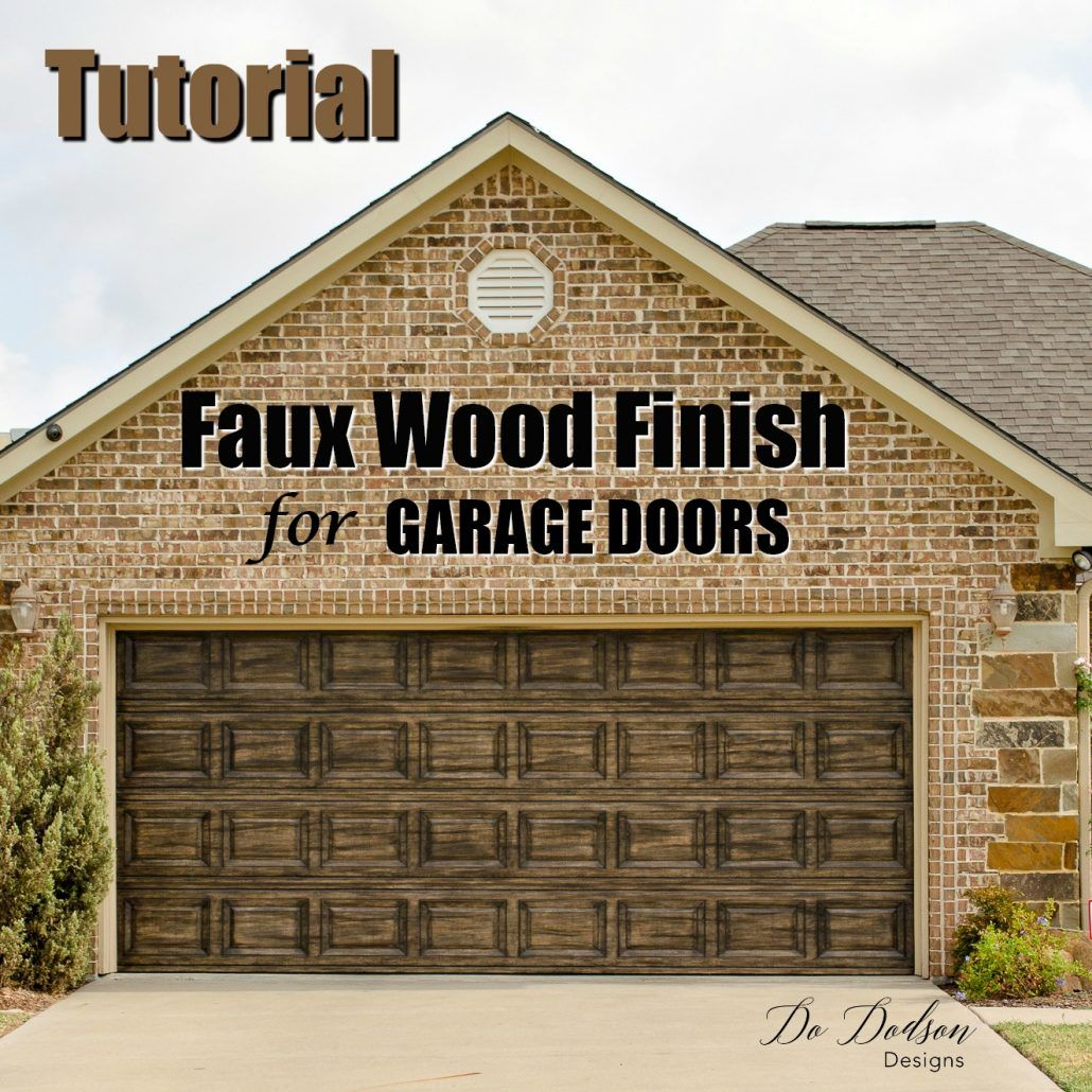 Diy Painting Tutorials To Add Beauty To Your Home And Furniture Faux Wood Paint Diy Painting Diy Garage Door