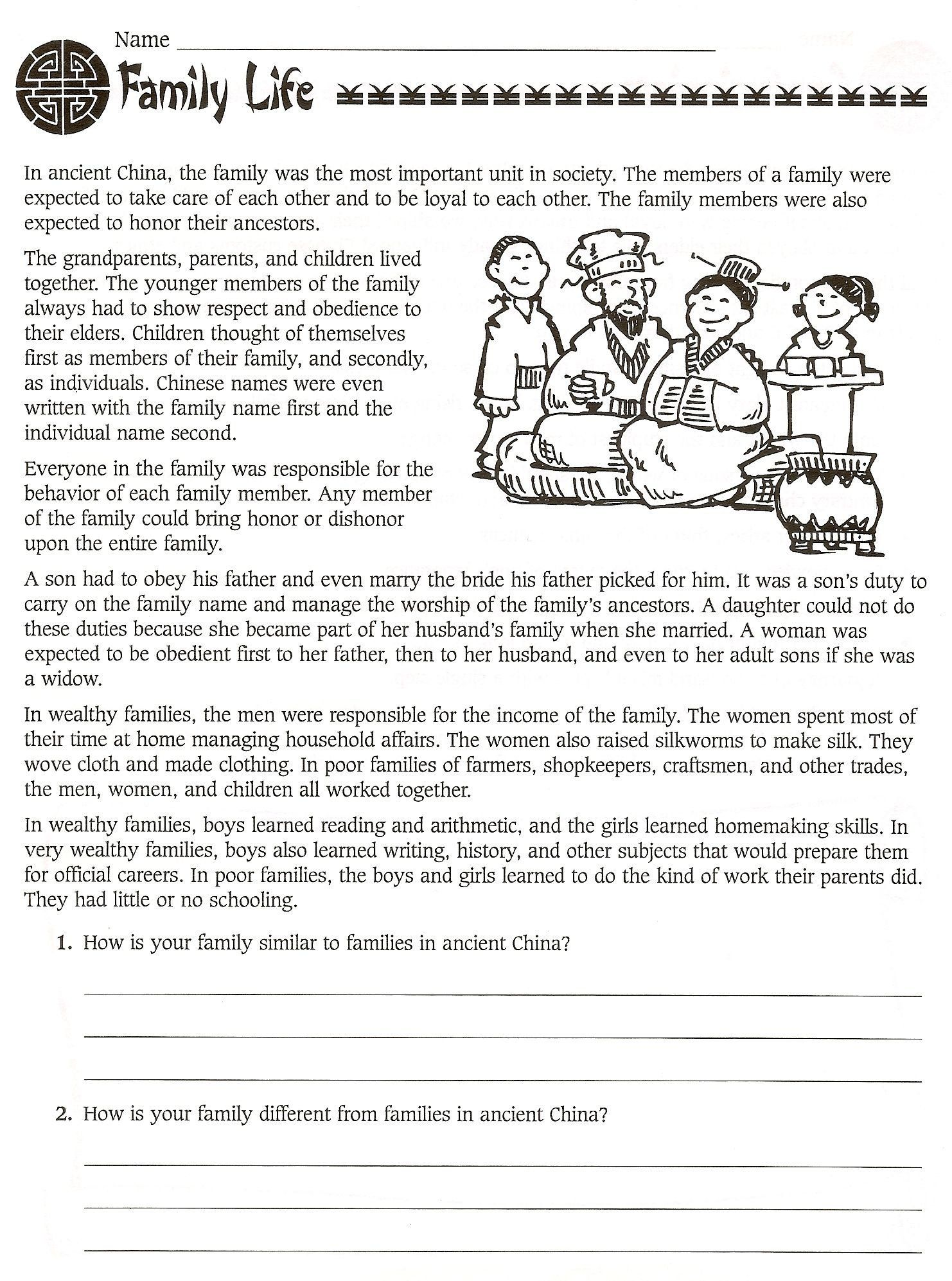 Sixth Grade Social Stu S Worksheets 6th Grade Social Stu