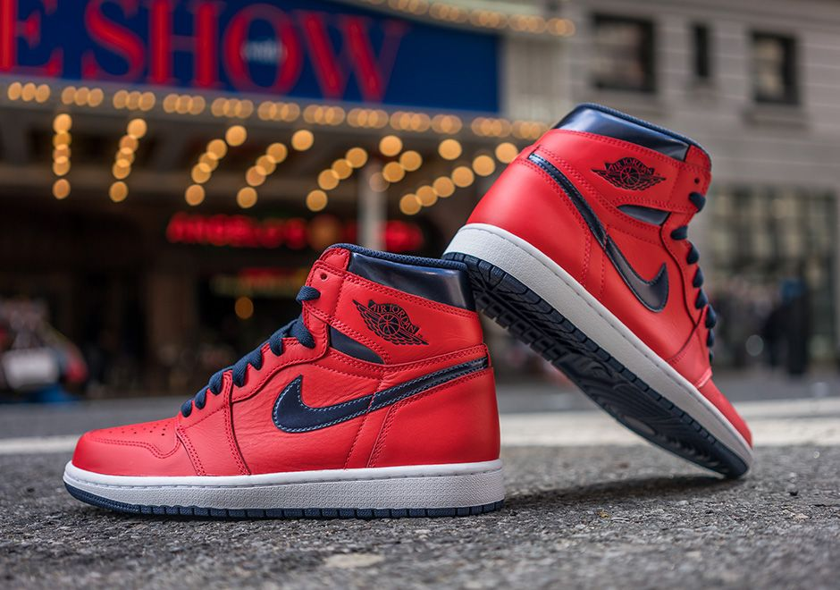 9b5b734fd428 Air Jordan 1 Retro High OG David Letterman Release Date