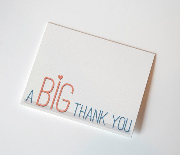 Unique Thank You Cards fun font thank you card | fonts, cards and card ideas