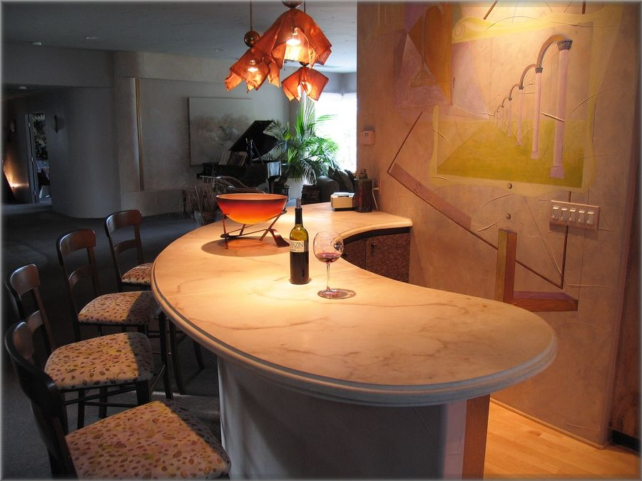 Curved Bar Tops   Free Curves