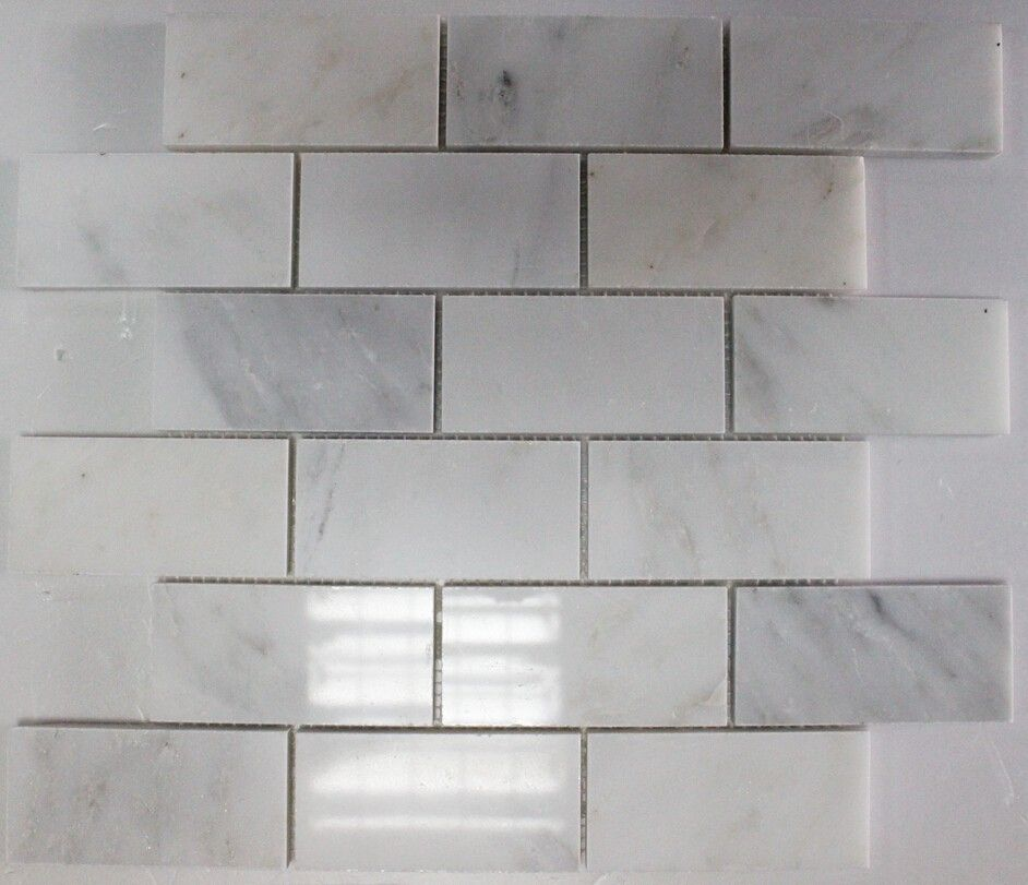 Art Studio 8 Elongated Hexagon Glossy White Wall Tile Collection Promotional Price 4 89 Per Square F White Wall Tiles White Hexagon Tiles Wall Tiles