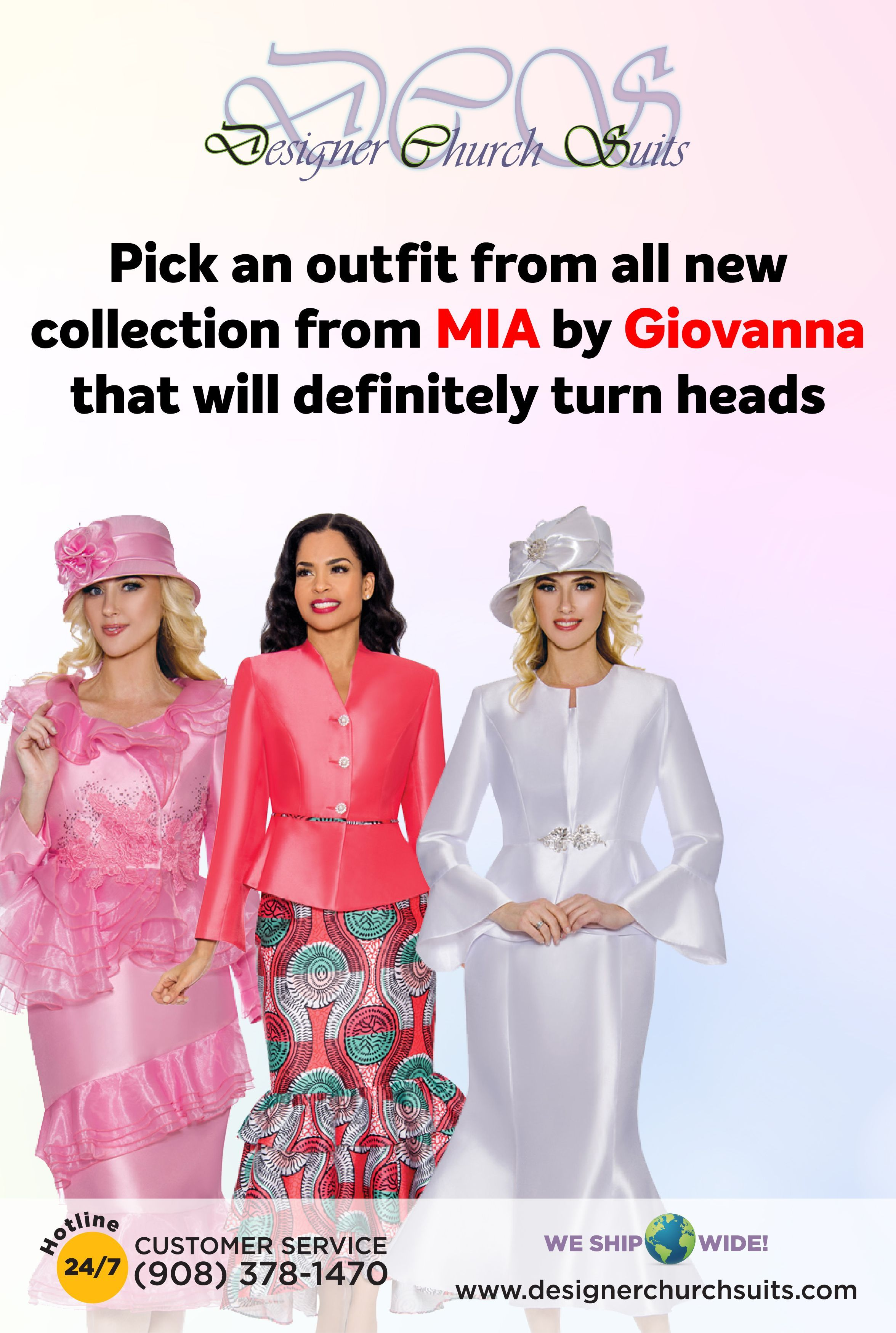 f49534fc49e Church Outfits · Pick an outfit from all new collection from MIA by  Giovanna that will definitely turn heads