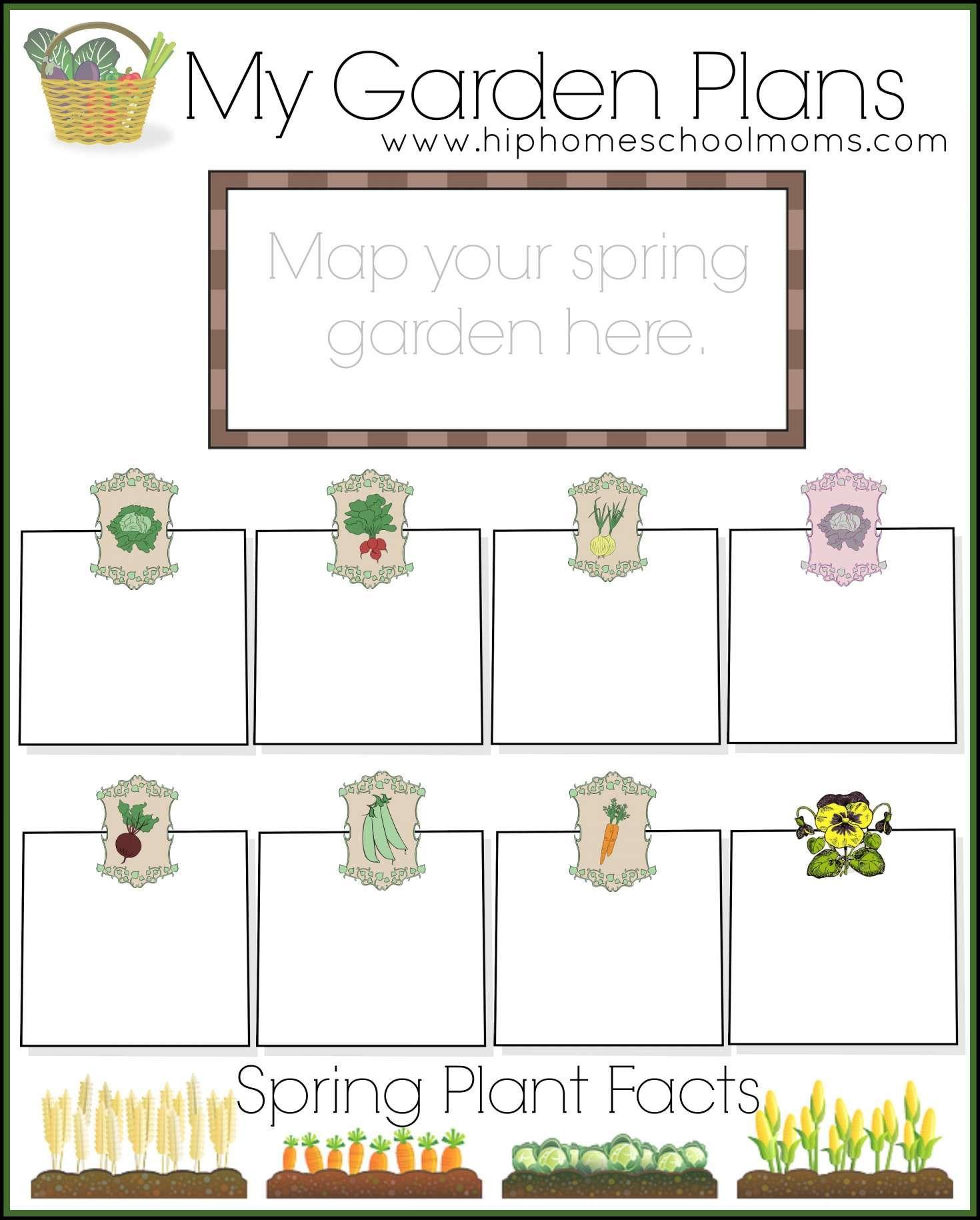 9 Gardening Worksheet Preschool