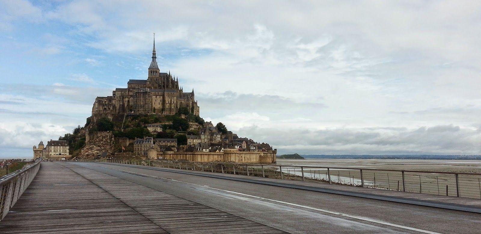 Biketrips en France: 4/5 - De Nantes à la Manche AR - Pleine-Fougères - Rennes, via Mt-St-Michel 100km