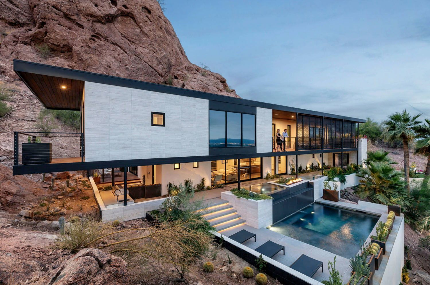 Mountainside Home Gets Spectacular Modern Remodel In The Arizona Desert In 2020 House On The Rock Spanish Style Homes Modern Remodel