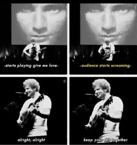 Ed Sheeran is Perfect.