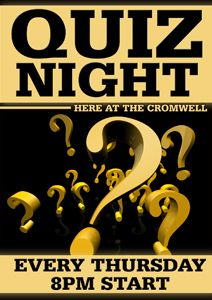 trivia night flyer template free