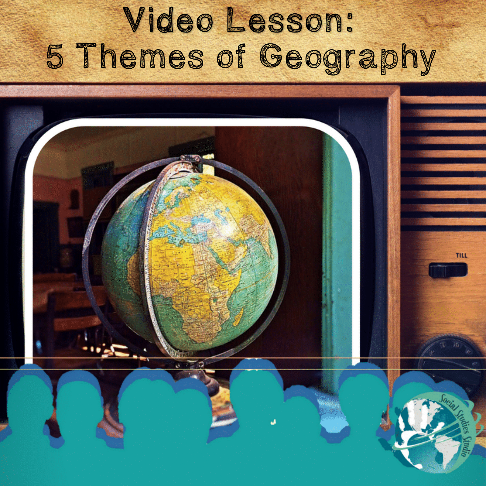 Perfect grab and go lesson for teachers! Lesson features video link, activity worksheets, note taking strategies, discussion prompts, 4 depths of knowledge questions, and project ideas all about the 5 themes of georgraphy.
