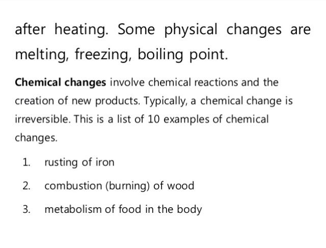 Chemphysical Change Force Energy Pinterest Physical Change