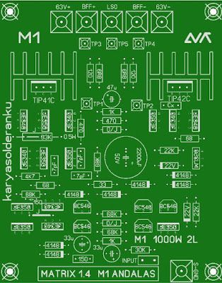 1000W Power Amplifier PCB Layout Design Matrix | PCB\'s Layout Design ...