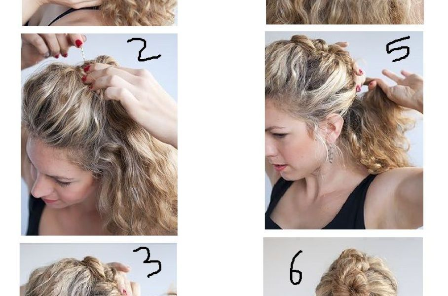 Pin On Curly Hair Styles Easy