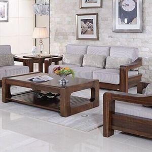 Source Teak Wood Sofa Set Design For Living Room Living Room Furniture Design On M Ali Furniture Design Living Room Wooden Sofa Designs Furniture Design Wooden