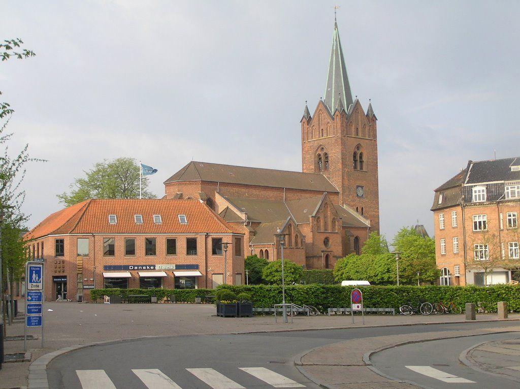Sankt Mikkels Kirke Nytorv Slagelse Danmark Kirke