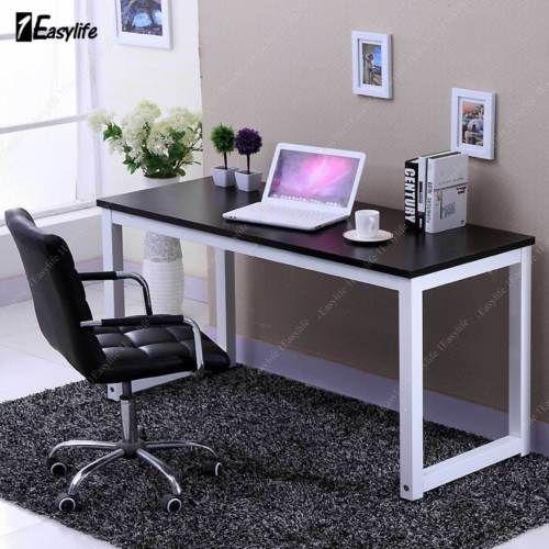 Cool Office Computer Laptop Wooden Desk Study Table Workstation Beutiful Home Inspiration Xortanetmahrainfo