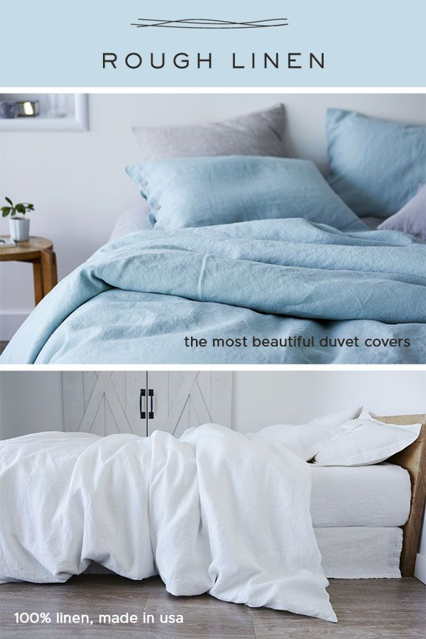 Discover The Incredible Feeling Of Sleeping On Linen Cool And Breathable And With The Most Beaut Beautiful Duvet Cover Coastal Bedding Sets Bed Linens Luxury