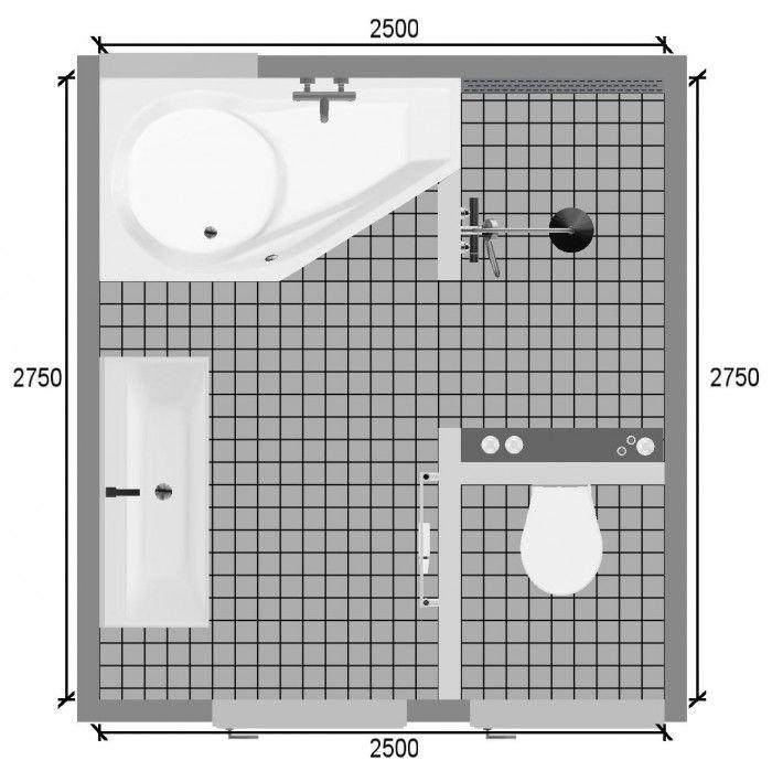 plattegrond kleine badkamer - Google zoeken | Küçük Banyolar ...