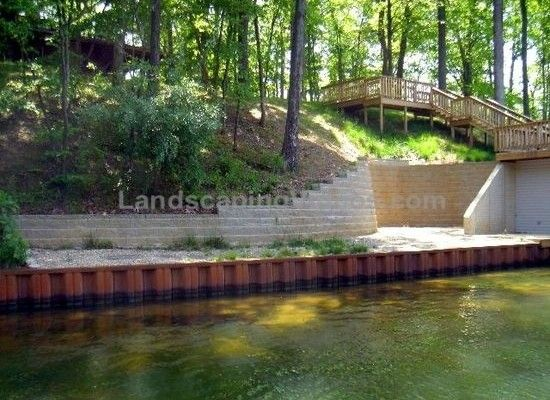 Lake Retaining Wall Ideas