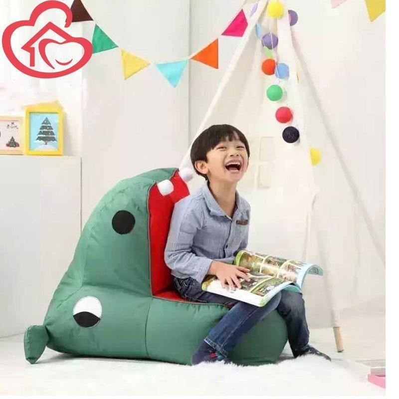 Single Small Hippo Bean Bag Sofa Chairforbedroom Bean