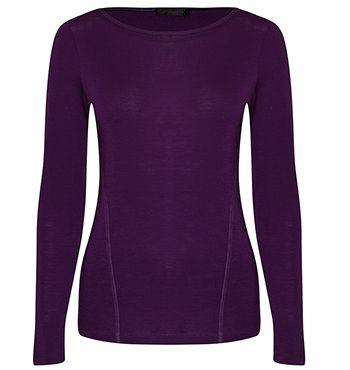David Lawrence purple jumper