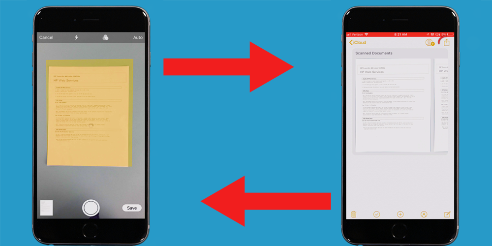 The iPhone now has a builtin document scanner — here's