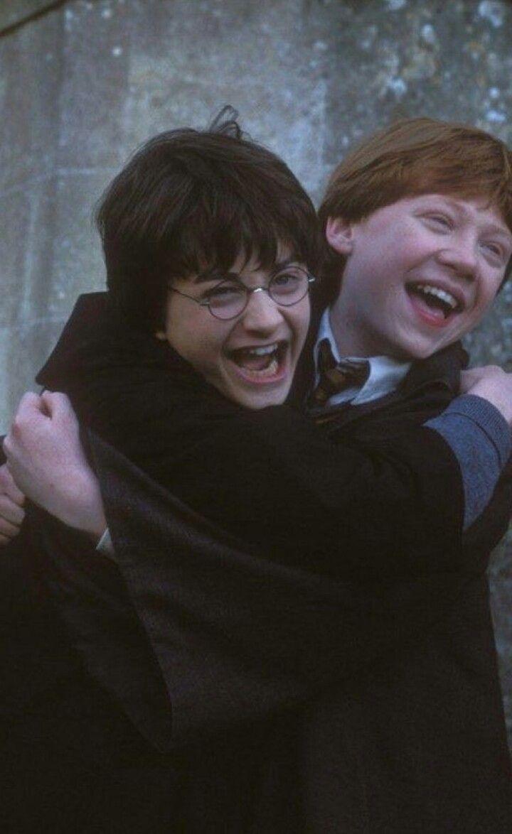 Daniel Radcliffe&Rupert Grint Harry Potter&Ron Wea