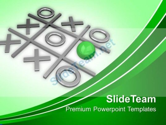 Tic Tac Toe Competition Powerpoint Templates Ppt Themes And Graphics