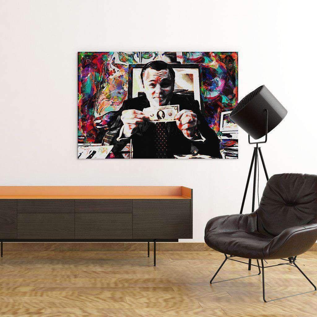 Wolf Of Wall Street Canvas Art Wolf Of Wall Street Canvas Art Art Therapy Children