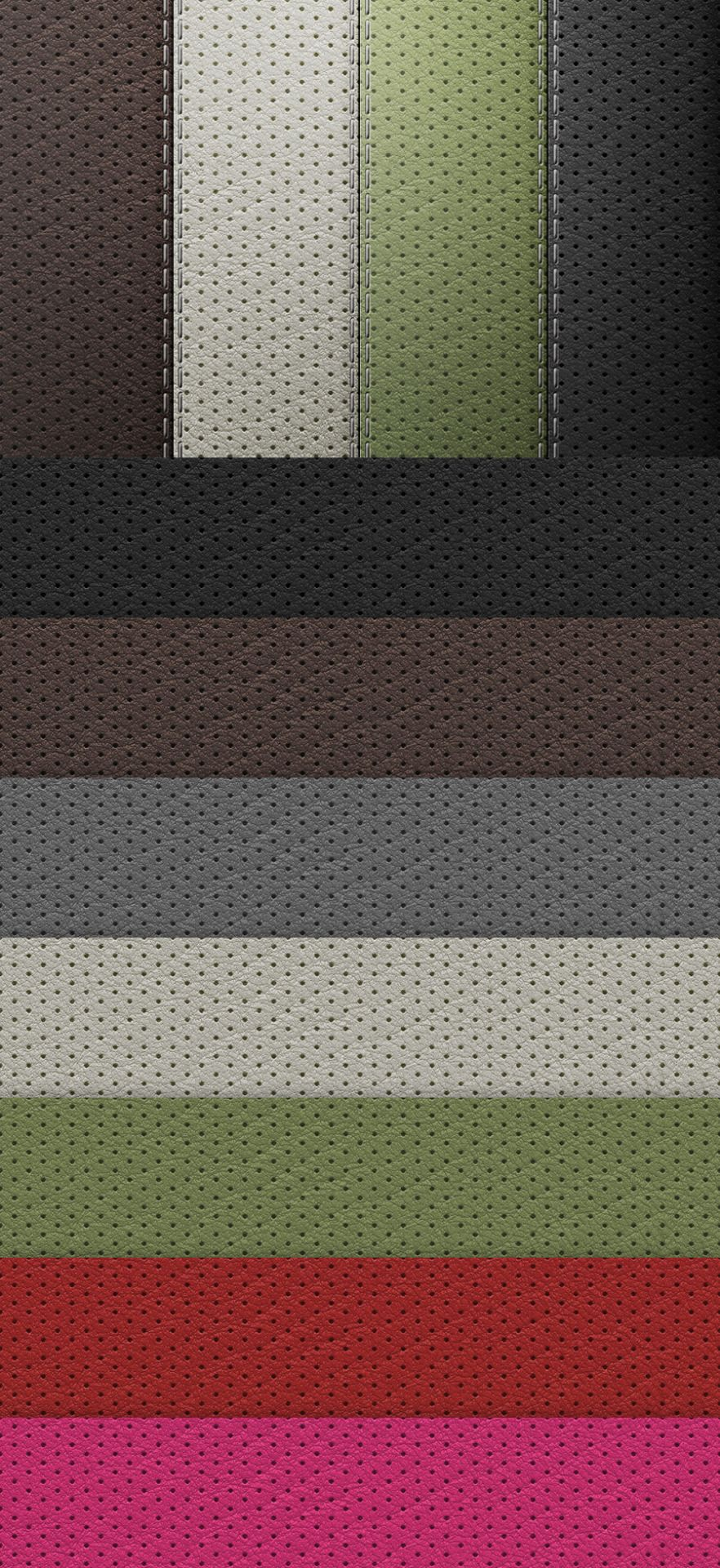 Perforated Leather – Free Seamless Texture Set