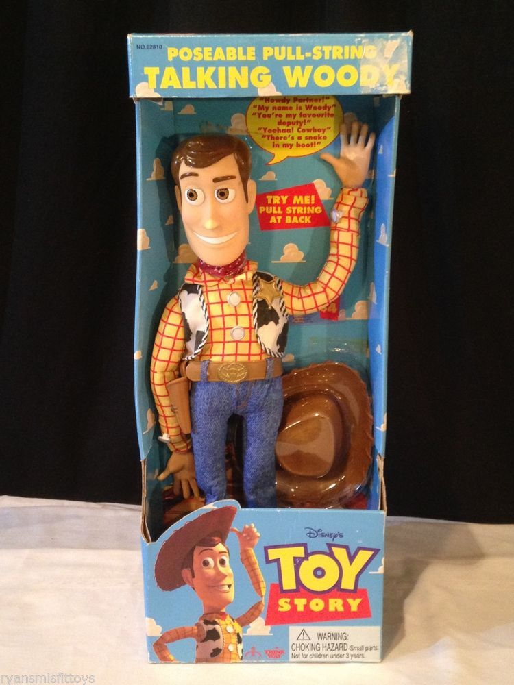 f06e76daf NEW IN BOX Toy Story ORIGINAL 1995 talking SHERIFF WOODY ~ RARE Thinkway  Toys #Thinkway