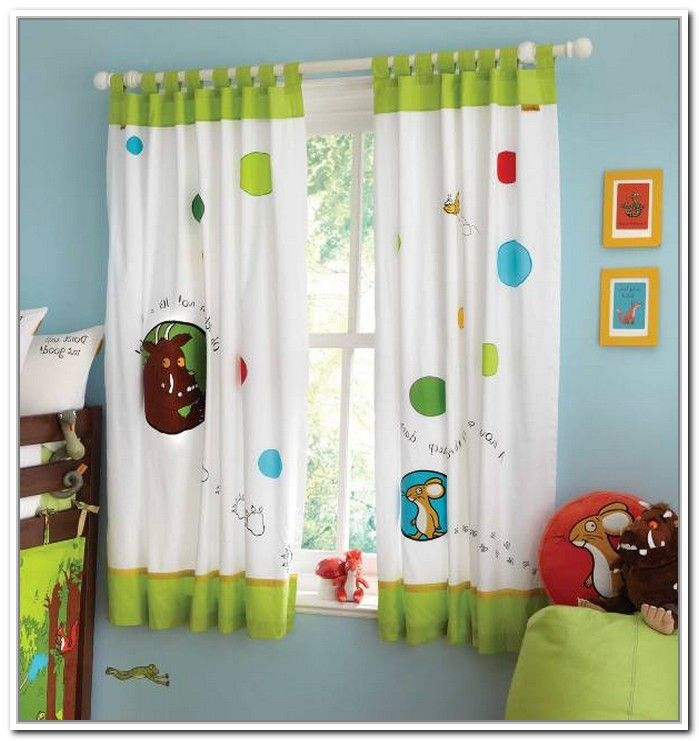 Kids Bedroom Curtains Custom Use Bright Colored Window Treatments Interiors  Pinterest Decorating Design